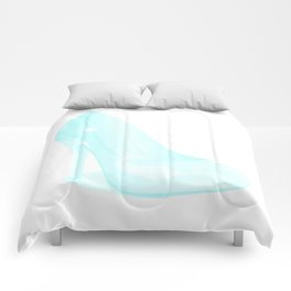 The Glass Slipper Background Comforters