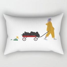 Billie Eilish Rectangular Pillow