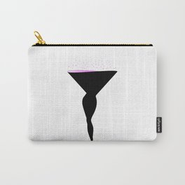Sexy Champagne Glass Carry-All Pouch
