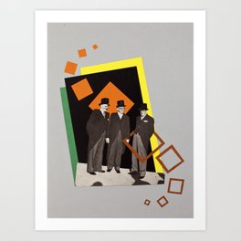 prisioners Art Print
