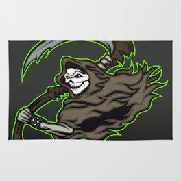 grim reaper ,grim reaper tattoos Rug