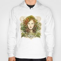 elf Hoodies featuring Elf Nouveau by hkxdesign