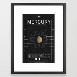 OMG SPACE: Mercury 1970 - 2010 Framed Art Print