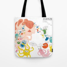 Sneeze Tote Bag