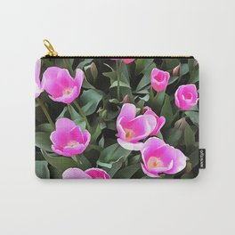 Delicate Pink Tulips Of Istanbul Carry-All Pouch