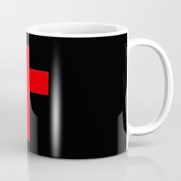 Christian Cross 12- red Coffee Mug