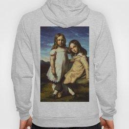 "Théodore Géricault ""Portrait of Alfred and Elisabeth Dedreux"" Hoody"