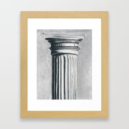 Doric Column Framed Art Print