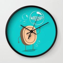 Wassoap?  Wall Clock