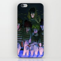 iwatobi iPhone & iPod Skins featuring FREE! IWATOBI SWIM CLUB again by Frank Odlaws