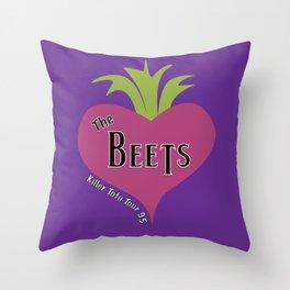 The Beets - Killer Tofu Tour '95 Throw Pillow