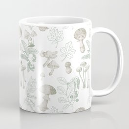 MAGICAL MUSHROOMS AND FOREST PLANTS  Coffee Mug