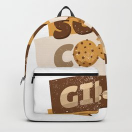 girl scout quote  Backpack