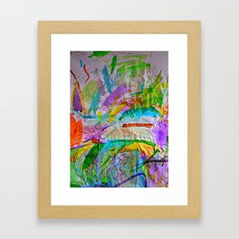 Lily's Watercolor Framed Art Print