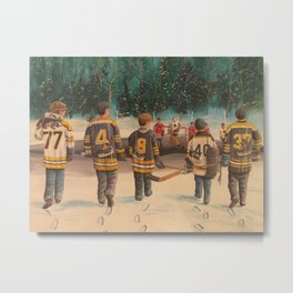 Rematch - 2013 Stanley Cup - Hockey Metal Print