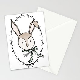 Remarkable Rabbit Stationery Cards
