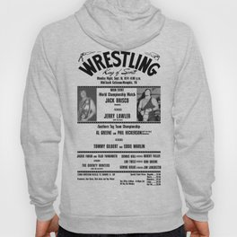 #1 Memphis Wrestling Window Card Hoody