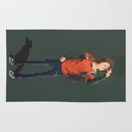 Ellie The last of us Pixel Art Rug