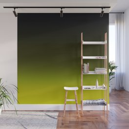 Ombre Yellow Wall Mural
