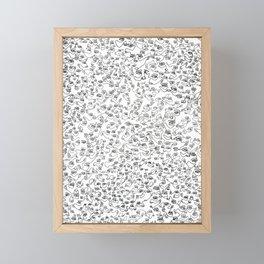 Connected Framed Mini Art Print