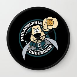 Philadelphia Underdogs Wall Clock