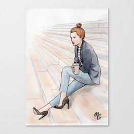 BnF - BFM* Canvas Print