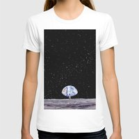 neil gaiman T-shirts featuring Neil Armstrong by Enrico Barin Guarise