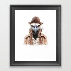 Vautour Framed Art Print