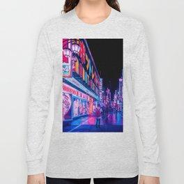 Neon Drip Long Sleeve T-shirt