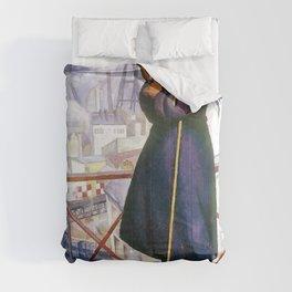 Portrait Of Adolfo Best Maugard - Diego Rivera Comforters