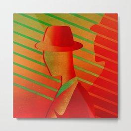 Red Hat - Metallic Metal Print