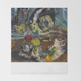 Monster ride. Throw Blanket
