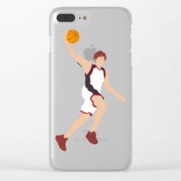 Meteor Slam (simple version) Clear iPhone Case