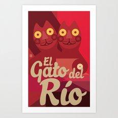 Gato caleño Art Print