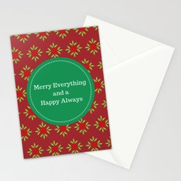 Holiday Greeting Card - Christmas Greeting Card Stationery Cards