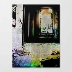 No Intuition, No Judgment Canvas Print