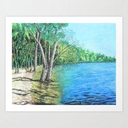 Lakeland 2 Art Print