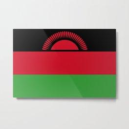 Flag of Malawi Metal Print