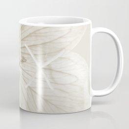 Minimal Sepia Primrose Close-up Coffee Mug