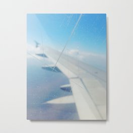 On The Wing Metal Print