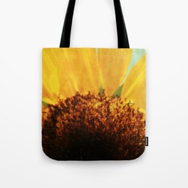 The Energy of Sunflower Tote Bag