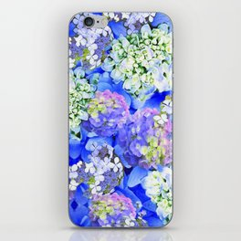 Billowing Blush in Blue iPhone Skin