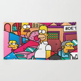 The Simpson Beach Towel