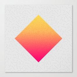 Unsubstantial Lozenge Composition Canvas Print