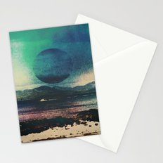 Fluid Moon Stationery Cards