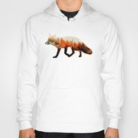 andreas preis Hoodies featuring Norwegian Woods: The Fox by Andreas Lie