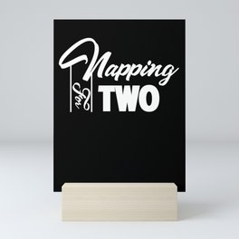 Napping For Two - Graphic Mini Art Print