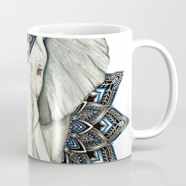 Zen Elephant Mandala Coffee Mug