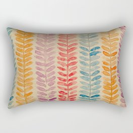 watercolor knit pattern Rectangular Pillow