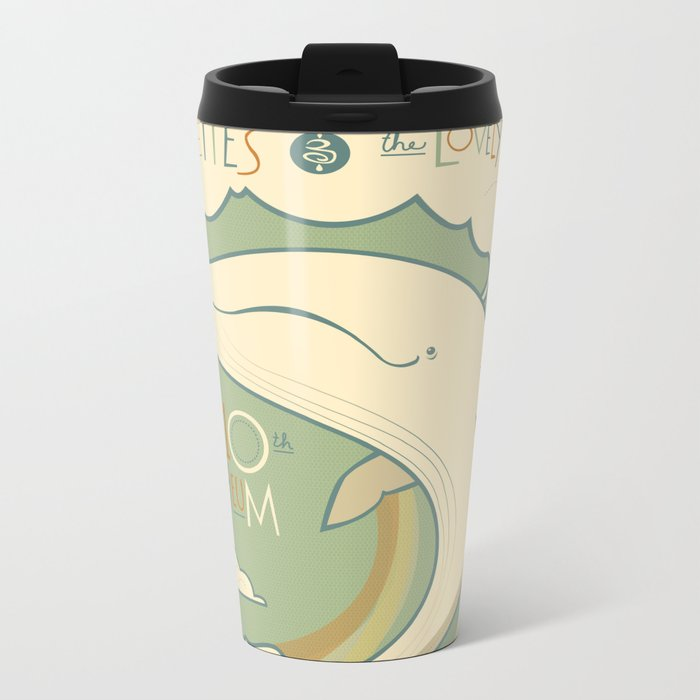 Rilo Kiley Metal Travel Mug